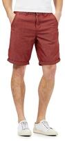 Red Herring Red Pin Dot Chino Shorts