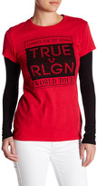 True Religion Straight Stack Tee