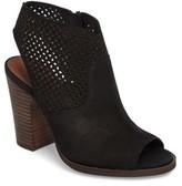 Lucky Brand Women's Lizara Perforated Block Heel Sandal