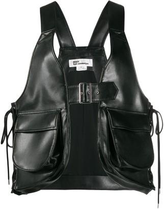 Comme des Garcons Faux-Leather Harness Vest