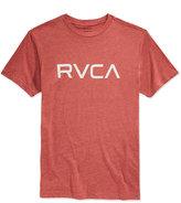 RVCA Men's Heathered Logo T-Shirt