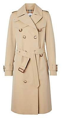 Burberry Women's Islington Double-Breasted Trench Coat