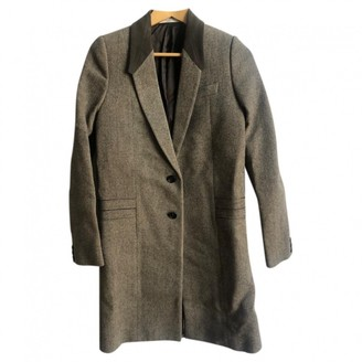 Givenchy Brown Wool Coat for Women