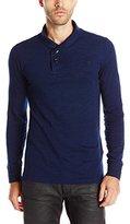G Star Men's Indigo Ezra Lightweight Pullover Sweatshirt