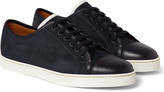 John Lobb - Levah Suede And Leather Sneakers