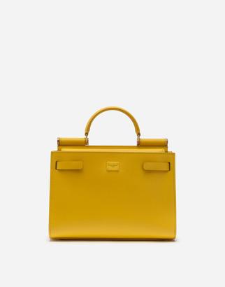 Dolce & Gabbana Medium Calfskin Sicily 62 Bag