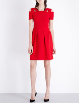 Roland Mouret Kneller stretch-crepe dress