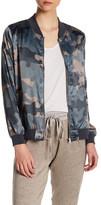 Hip Camo Bomber Jacket