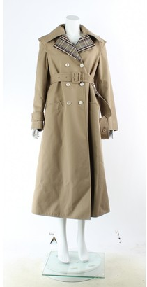 Gucci Beige Cotton Trench Coat for Women