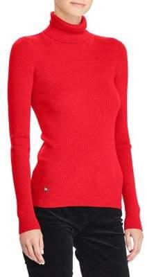 Lauren Ralph Lauren Petite Stretch Turtleneck Sweater