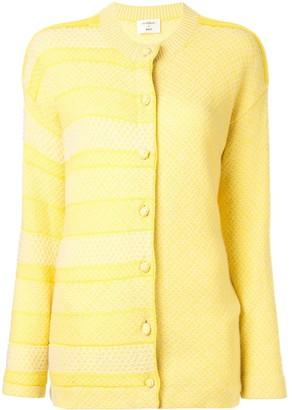 Onefifteen Panelled Stripe Cardigan