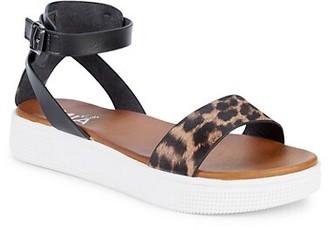 Mia Girl's Ellen Faux Leather Platform Sandals