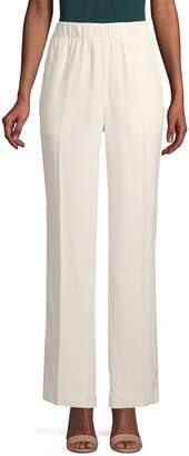 Helmut Lang Flat-Front High-Rise Pants