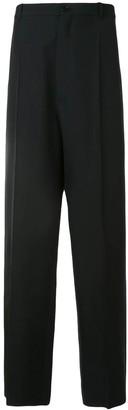 Balenciaga Black Long Tailored Pants