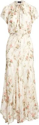 Polo Ralph Lauren Floral Short-Sleeve Dress