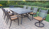 Darby Home Co Vandyne 11 Piece Extendable Dining Set with Cushions
