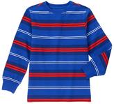 Gymboree Blue & Red Stripe Jersey Long-Sleeve Tee - Boys