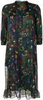 Roseanna floaty floral print dress