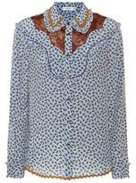 Coach Printed silk shirt
