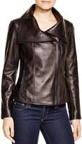 KORS Leather Moto Jacket