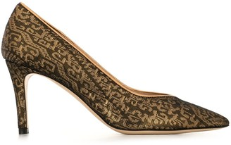 Etro Jacquard Court Pumps