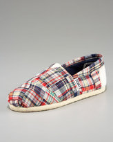 TOMS Madras Slip-On, Youth