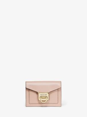 MICHAEL Michael Kors Manhattan Small Leather Wallet