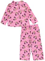 "Disney Minnie Mouse Little Girls' Toddler ""Jewel Frame"" 2-Piece Pajamas"