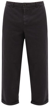 Toogood The Bricklayer Cotton-canvas Trousers - Black