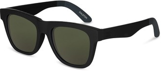Toms TRAVELER Dalston Matte Black | Polarized Green Lens