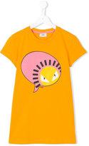 Fendi monster print T-shirt - kids - Cotton/Spandex/Elastane - 14 yrs