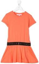 Givenchy Kids logo band T-shirt dress