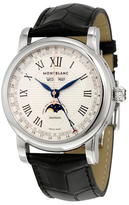 Montblanc Star Stainless Steel & Alligator Leather Watch, 42 mm