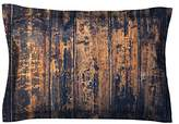 "Kess InHouse King Cotton Pillow Sham, Susan Sanders ""Barn Floor"", 40 by 20"""