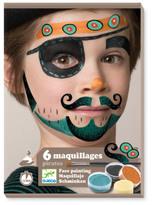 Djeco Pirate Makeup - Set of 6