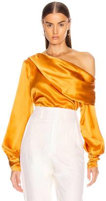 Alix Catherine Top in Saffron | FWRD