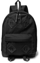 Engineered Garments Leather-trimmed Cordura Backpack - Black