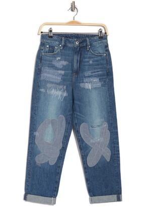 3301 High Boyfriend Tape Restore Jeans