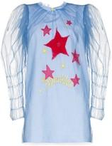 Viktor & Rolf Sparkles layered embroidered shift dress