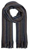 F&F Striped Tassel Scarf, Men's