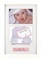 """Malden Baby Memories Picture Frame, Baby Memoto Shadowbox, 4"""" x 6"""" by Malden"""