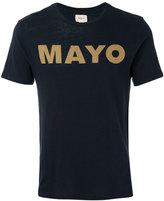 Bellerose slogan print T-shirt - men - Cotton - XL