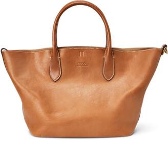 Ralph Lauren Leather Reversible Medium Tote
