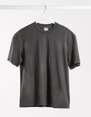 Puma heavy classics t-shirt in grey