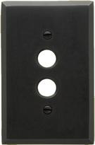 Rejuvenation Lewis Single Push-Button Switchplate