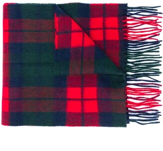 Barbour New Check Print Scarf
