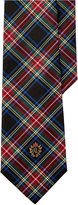 Lauren Ralph Lauren Men's Tartan Crest Plaid Tie