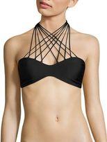 Mikoh Swimwear Kahala Skinny String Bikini Top