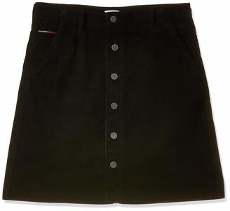Tommy Jeans Women's Tjw A Line Corduroy Skirt Dress