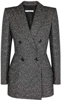 Givenchy Double-breasted Herringbone Blazer